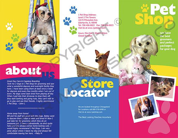 Petshop Brochure