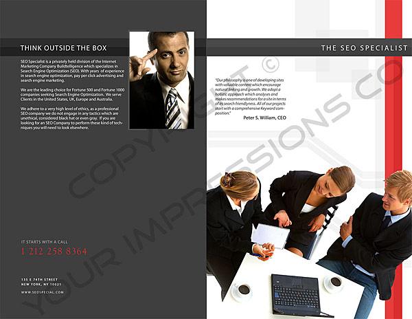 SEO Company Brochure