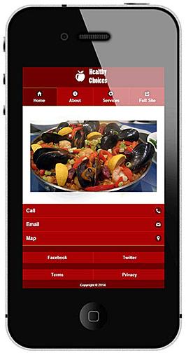 Mobile Website 010