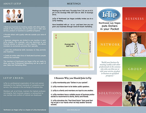 Networking Organization Brochure