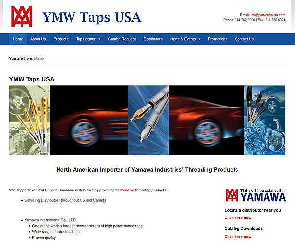 Tap Tool Distributor Client Website